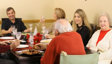 For many first-year college students, the holidays are the first time seeing their families since making the big transition to school.