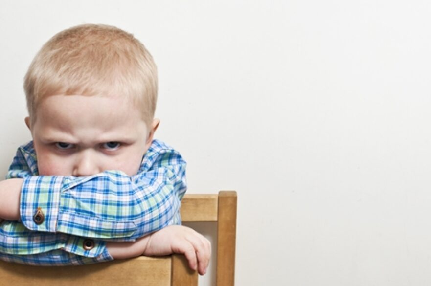 Children may not completely understand why they're angry when they have alcoholic parents. This anger can lead to further complications in development.