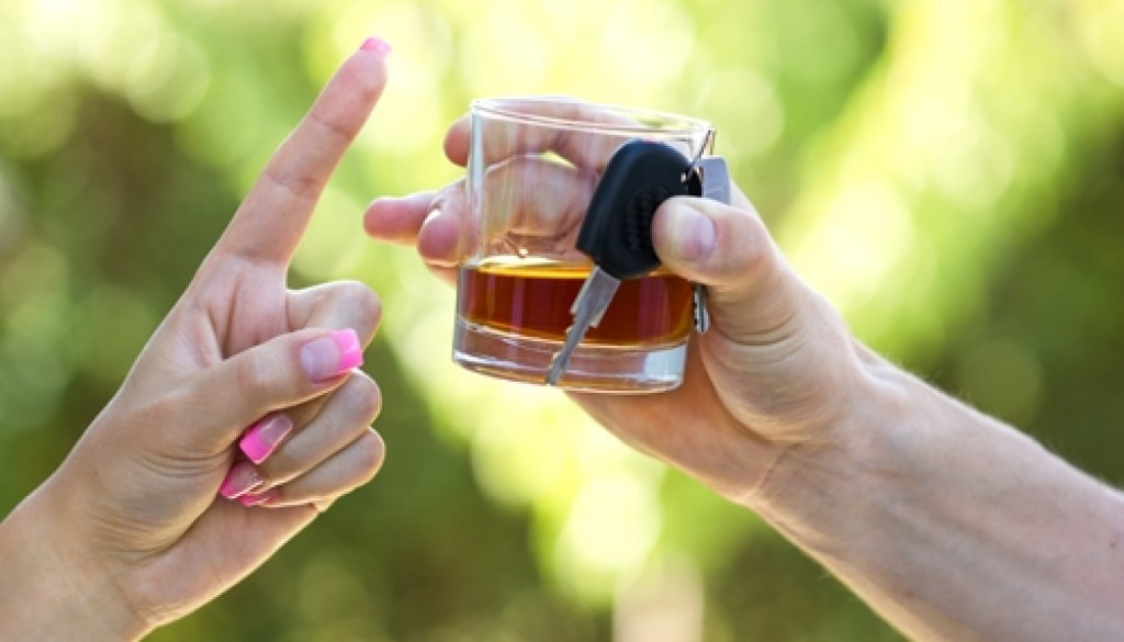 Even light drinking can affect your ability to drive safely.
