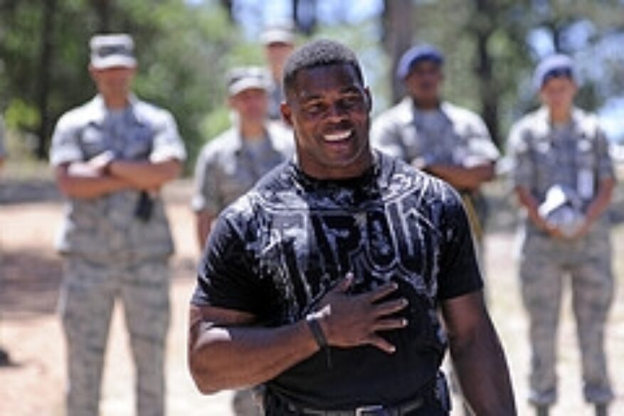 Herschel Walker is an advocate for mental health awareness, especially among military members. Photo courtesy Flickr user DVIDSHUB.