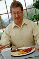 Is a man in your life hiding an overeating problem?