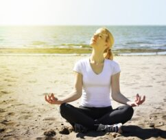 Practicing meditation and relaxation techniques can help trauma victims heal.