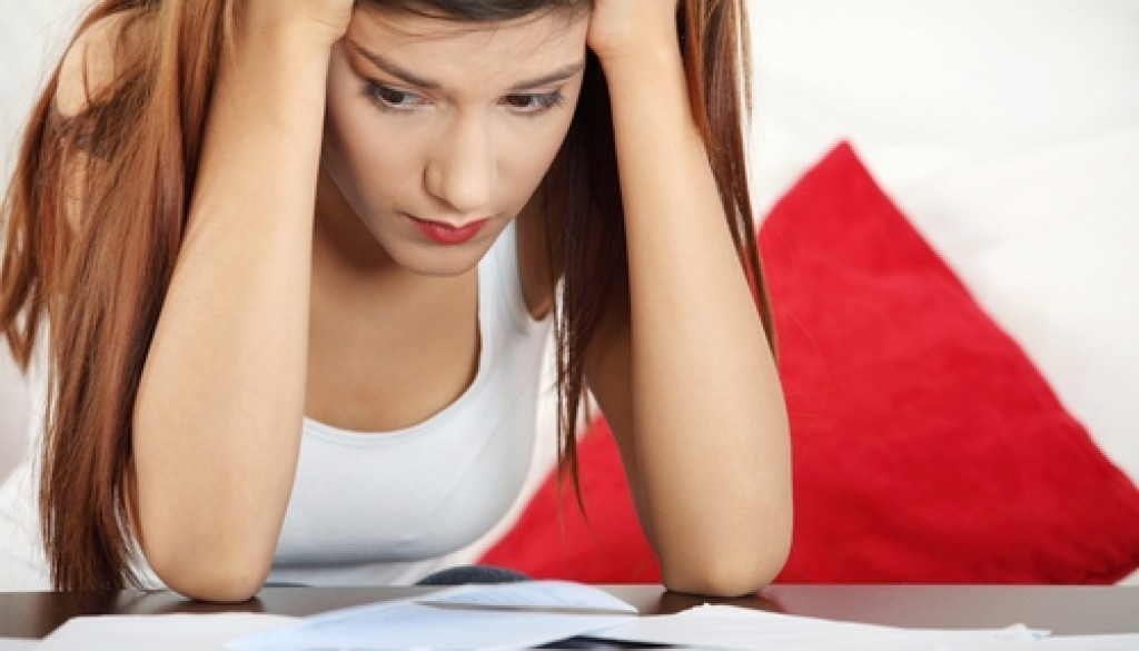 Prolonged, excessive worry may be a sign of anxiety.