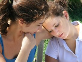 Talking to your teenager is the first step in helping them treat their depression.