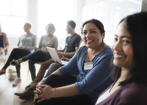 Group counseling is a feature of IOP.